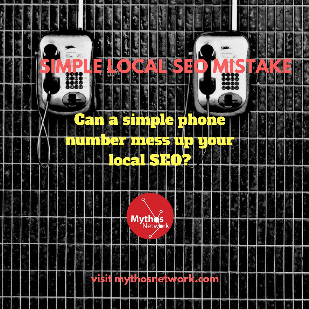 A Simple Local SEO Mistake Local SEO Image